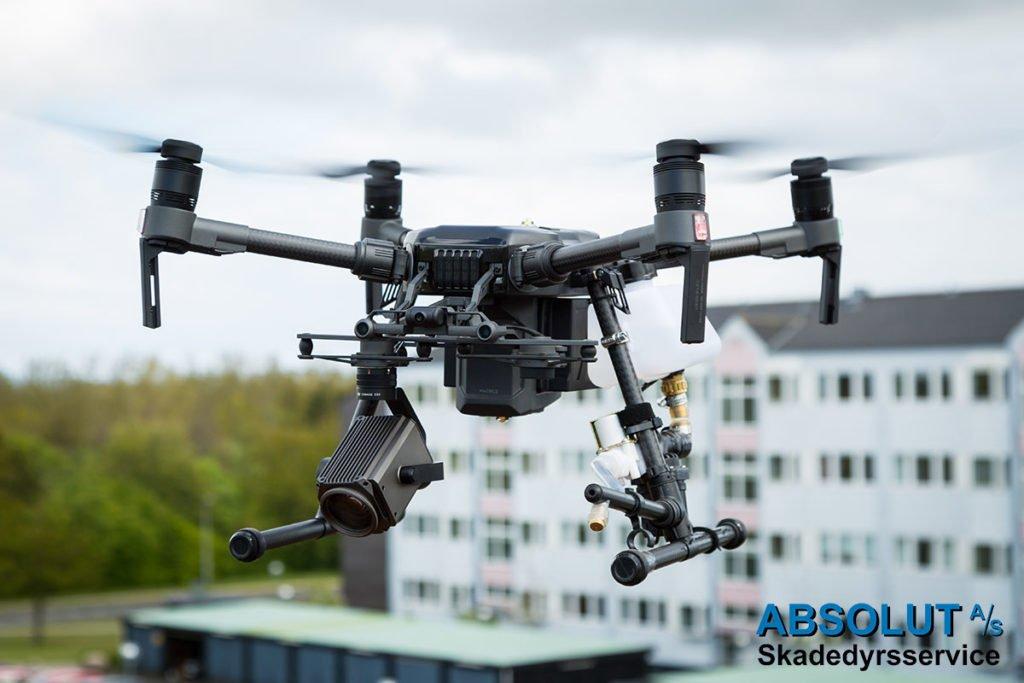 Drone til fjernelse af mågereder